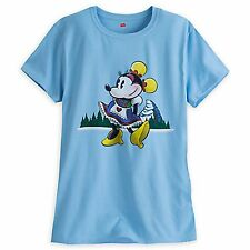 Disney Parks Minnie Mouse Matterhorn Ride T-Shirt Limited Release Ladies Xxl