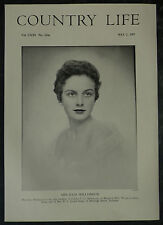 Julia Williamson Beaumont Hall Thorpe Le Soken 1957 1 Page Photo Article