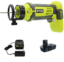 NEW Ryobi P531 18V 18-Volt ONE+ Speed Saw Rotary Cutter kit with P102 and P118B