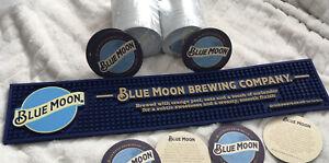 **100 X Bar Mat Plus Runner* BLUEMOON RUBBER BAR RUNNER Brand New! Mancave, Pub