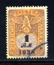 1545-GERMAN EMPIRE-Third reich.1938.WWII.GERMAN REVENUE NAZI.COURT COSTS brand.