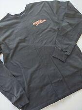 Harley Davison Mens Black Long Sleeve Embroidered Shirt Size XL
