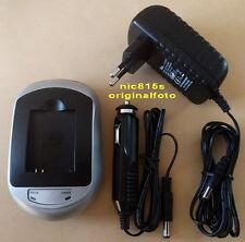 Netz und Autoladegerät für Samsung SLB-11A Akkus (für EX1, ST1000, ST5000 usw.)