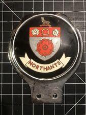 Northants Car Badge