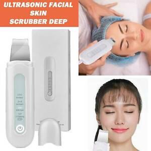 Ultraschallgerät Porenreiniger Gesicht Reiniger Mitesserentferner Skin Scrubber