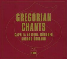 GREGORIAN CHANTS - CAPELLA ANTIQUA MÜNCHEN, KONRAD RUHLAND  3 CD NEUF
