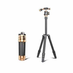 QZSD Camera Tripod Q066 Lightweight with Carry Bag Panhead For All Cameras Mount