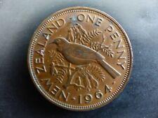 Pièce monnaie NOUVELLE-ZELANDE NEW-ZEALAND 1 PENNY 1964