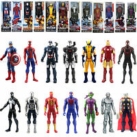 12'' Movie Toy The AVENGERS Marvel Titan Hero Iron man Spider man Action Figure