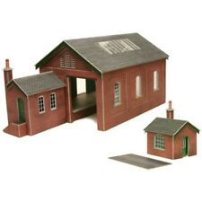 PO232 00 / H0 Goods Shed Metcalfe Model Kit Building