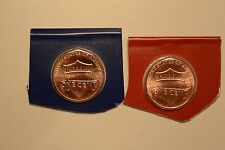 2016 P & D Shield Penny Two Uncirculated Coin Set from US Mint Set