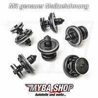 10x Türverkleidung Befestigungsclips für VW Tiguan Golf Passat Jetta   6Q0868243