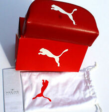 New Authentic PUMA Red Sunglass Case and Pouch