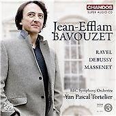 Works By Ravel, Debussy & Massenet, Jean-Efflam Bavouzet, Audio CD, New, FREE &