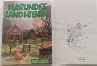 Wolf Rüdiger Marunde signiert orig. Zeichnung Unterschrift Signatur Autogramm