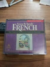 The Learning Company Learn To Speak French  Windows CD Rom instant translations