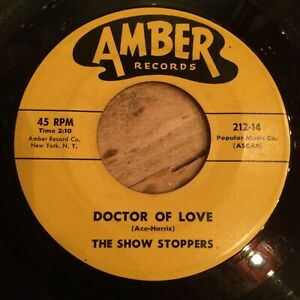 HEAR 1963 SOUL / R&B DANCER - THE SHOW STOPPERS - DOCTOR OF LOVE - AMBER