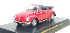 1/64 Kyosho VW VOLKSWAGEN BEETLE CONVERTIBLE RED diecast car model