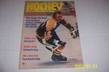 1972 HOCKEY Illustrated BOSTON Bruins JOHNNY MCKENZIE The STANLEY CUP in COLOR