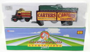 Corgi 1/50 Scale CC10706 - Scammell Highwayman Box Trailer & Roofload - Carters