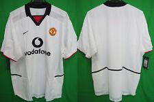2002-2003 Manchester United Manutd Manunited Jersey Shirt Away Vodafone XL BNWT