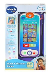 VTech Swipe and Discover Phone Baby Kids Toys NEW   FREE POST