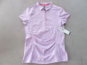 LIJA Ladies Golf Polo shirt Lilac / Calyps Medium