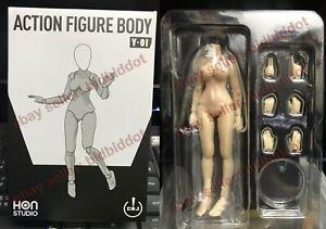 "honstudio 1/12 Naked Female Body action Figure Figma 6"" hentai Goblin Y01 Model"