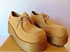 CITY SNAPPERS Vintage Platform Retro 1980's Shoes COLOR  CAMEL Choose Your Size