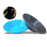 Plastic Durable Nugget Gold Pan Prospecting Mining Prospecting River Dredging
