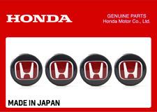 GENUINE HONDA WHEEL CENTER CAP W/ RED H CIVIC TYPE R FK8 2017+ FK2 44732-TGH-A01