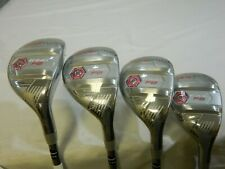 New Cobra King F8 Silver Ladies Hybrid Set 4h + 5h + 6h + 7h Womens Hybrids