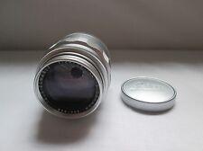 Leica Leitz Chrome 90mm Tele-Elmarit Lens. 1st Version 1964.