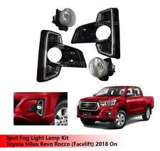 Spot Fog Light Lamp Kit For Toyota Hilux Revo Rocco (Facelift) 2018 ON