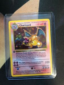 1st Edition SHADOWLESS Charizard 4/102 Proxy