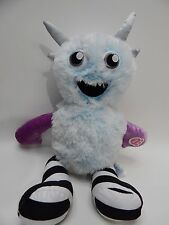 """Build A Bear Plush 19"""" Ice Blue Arctic Mixter Monster I'M GOING TO GET YOU voice"""