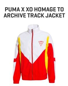 🔶️THE WEEKND XO PUMA X HOMAGE ARCHIVE TRACK JACKET TOP RETRO VINTAGE MENS S