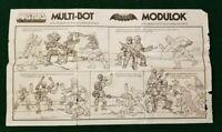 MOTU - MODULOK  Instructions - Sheet Only  Masters of the Universe 1985 He-Man