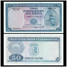 East Timor 50 Escudos 1967 (UNC) 399599 Nice Number