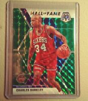 Charles Barkley *Green* 2019-20 Panini Mosaic 🏀 Hall of Fame - 76ers