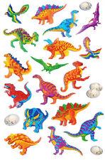 Dinosaurier Sticker Kinder Karte machen Deko Etiketten für Kinder cry09