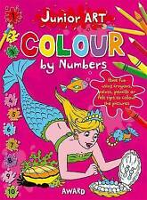 Mermaid: Colour By Numbers by Anna Award (Paperback, 2011)