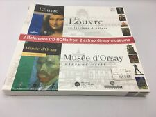 Montparnasse Multimedia Le Louvre & Musee d'Orsay Duo Pack ~ Mac/PC ~ Win 95/98