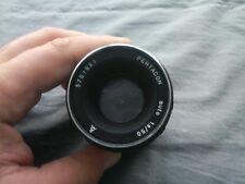 Pentacon Auto 1.8 / 50 mm  for M 42 Screw Mount Camera Lens