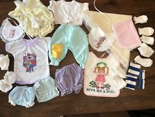 Lot of Vintage Doll Clothes Accessories Most Cabbage Patch (CPR)