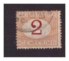 REGNO 1870 - SEGNATASSE  Centesimi  2   usato