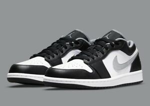 Nike Air Jordan 1 Low Shadow Mens Size 9.5 Smoke Grey Black White 553558-040 NEW