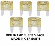 20 AMP MINI FUSES ( 5 PACK )  N10261508  YELLOW 514820