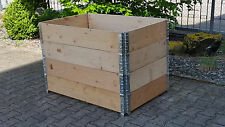 Hochbeet 120x80x80cm  - minutenschneller Aufbau