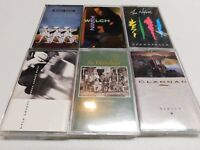 Lot of 6 Cassettes The Nylons Animal Logic Waterboys Lyle Lovett Clannad Welch